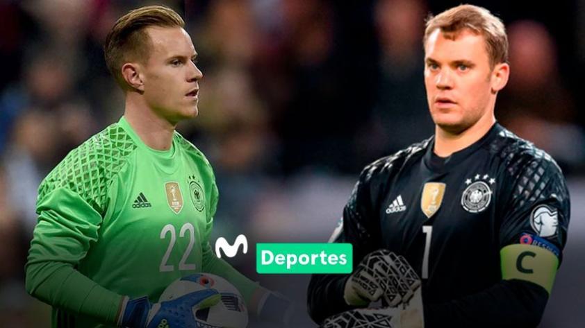La disputa entre Manuel Neuer y Marc-André ter Stegen por la portería de la selección alemana