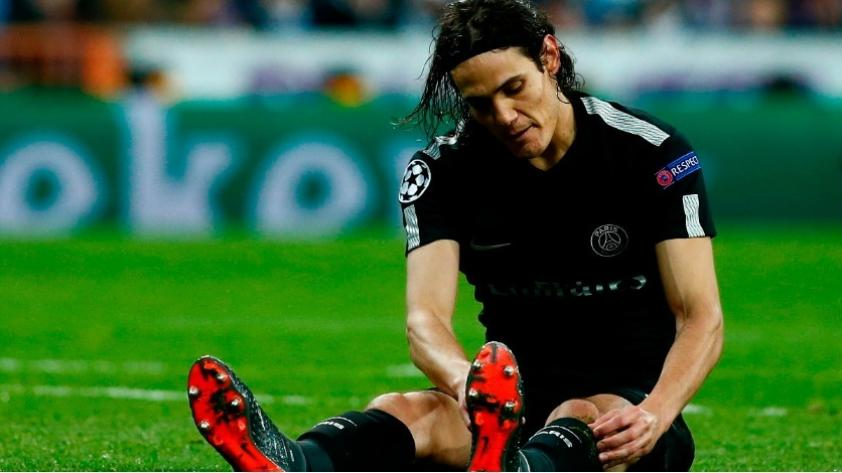 Champions League: ¿por qué  Edison Cavani salió ante Real Madrid? Este video lo explica