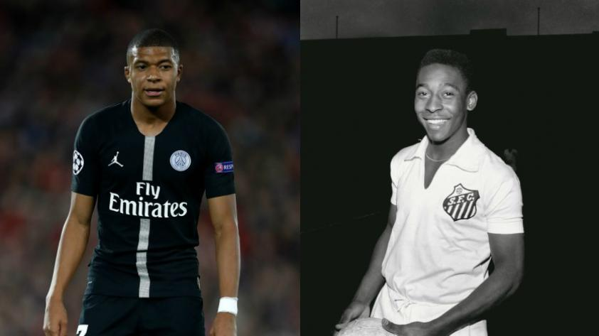 ¿Kylian Mbappé es el nuevo Pelé?, esto dijo el DT del PSG sobre el joven delantero francés