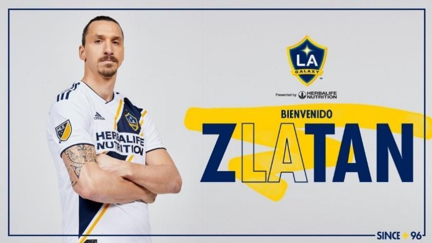 Zlatan Ibrahimovic refuerza a Los Ángeles Galaxy de la MLS