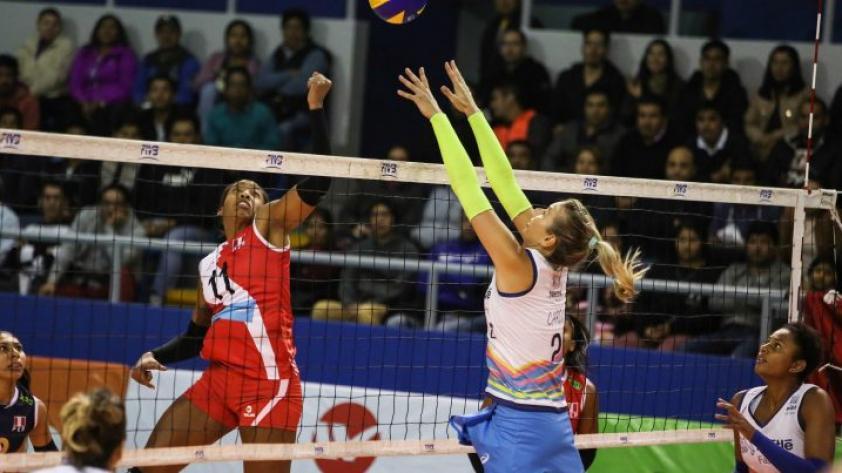 ¡Vamos chicas! Perú debuta en torneo de preparación antes de competir en el Premundial de vóley