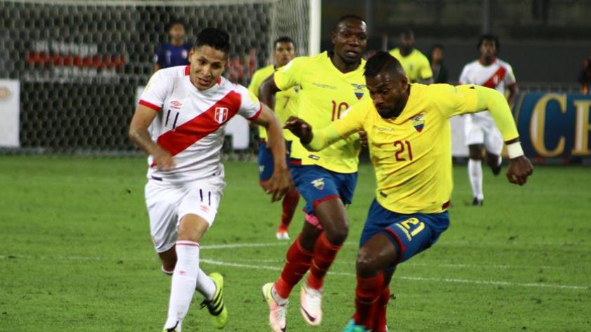 La selección peruana empezó el Operativo Quito