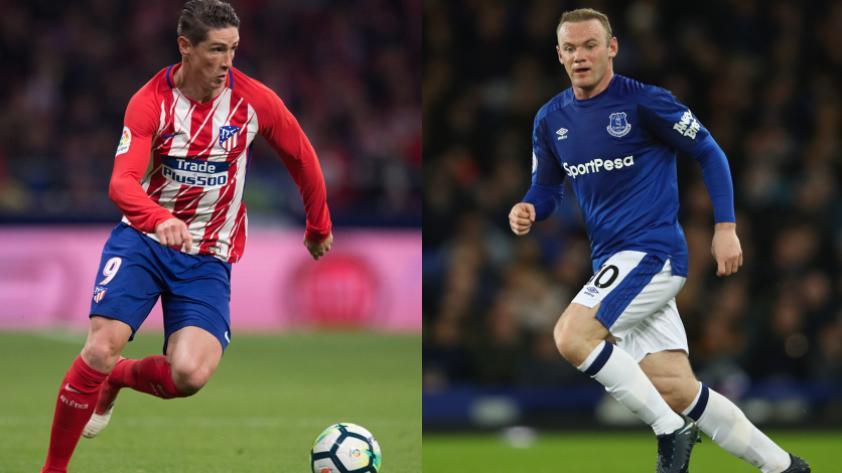 Wayne Rooney y Fernando Torres interesan en la MLS
