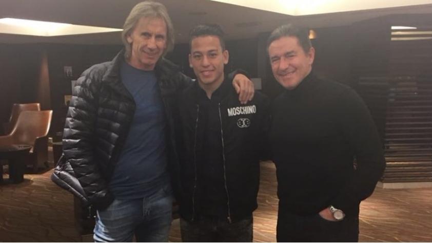 Selección Peruana: Cristian Benavente se reunió con Ricardo Gareca