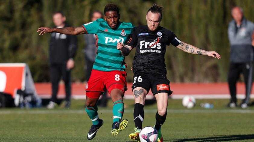 Jefferson Farfán participó en amistoso con FC Lokomotiv