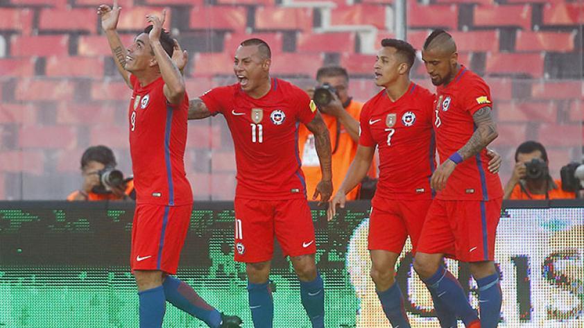 Chile venció a Venezuela y se acomoda rumbo Rusia