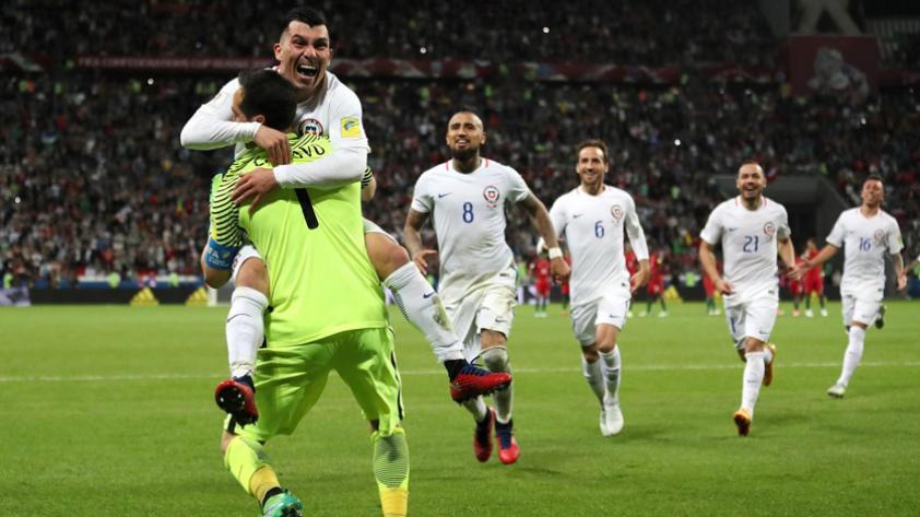 Chile derrotó a Portugal en los penales y clasificó a la final de la Confederaciones