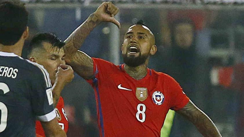 Arturo Vidal amenazó con retirarse de la Selección de Chile