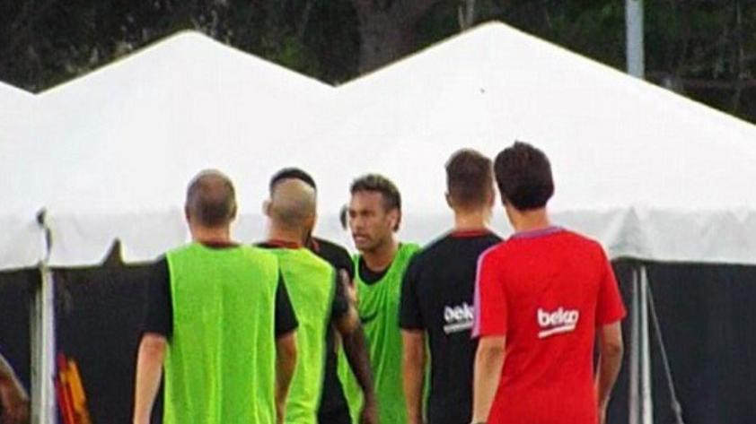 Neymar versus Nelson Semedo