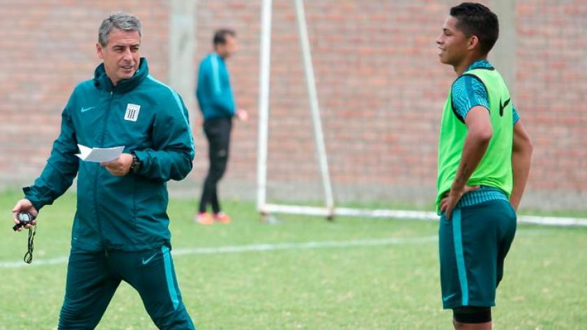 Alianza Lima: Pablo Bengoechea confirmó indisciplina de Kevin Quevedo