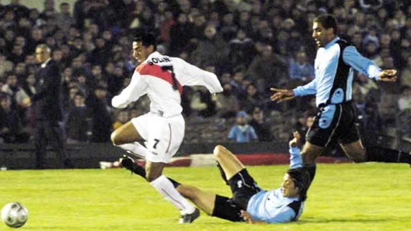 El recuerdo del triunfo peruano a Uruguay en Montevideo