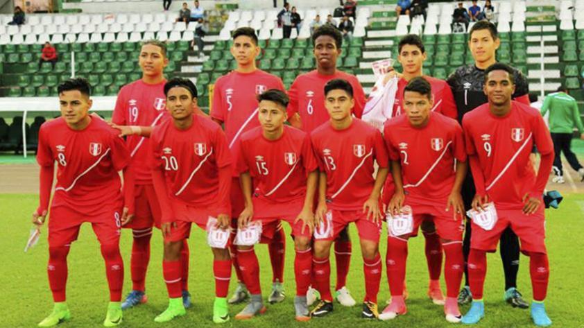 Selección peruana sub 15 ya conoce a sus rivales en el Sudamericano de Argentina