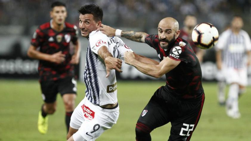 Para no creerlo: River Plate empató 1-1 a Alianza Lima en el último minuto en su debut por la Copa Libertadores
