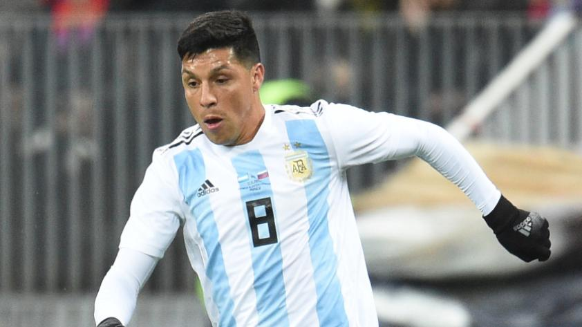 Argentina convocó a Enzo Pérez en reemplazo de Lanzini
