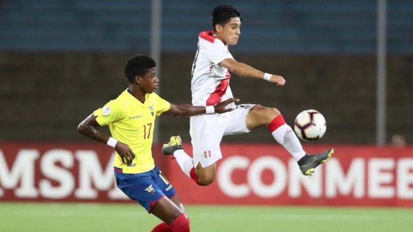 Perú empató 1-1 con Ecuador por el Sudamericano Sub 17 y aún tiene chances de clasificar al Mundial