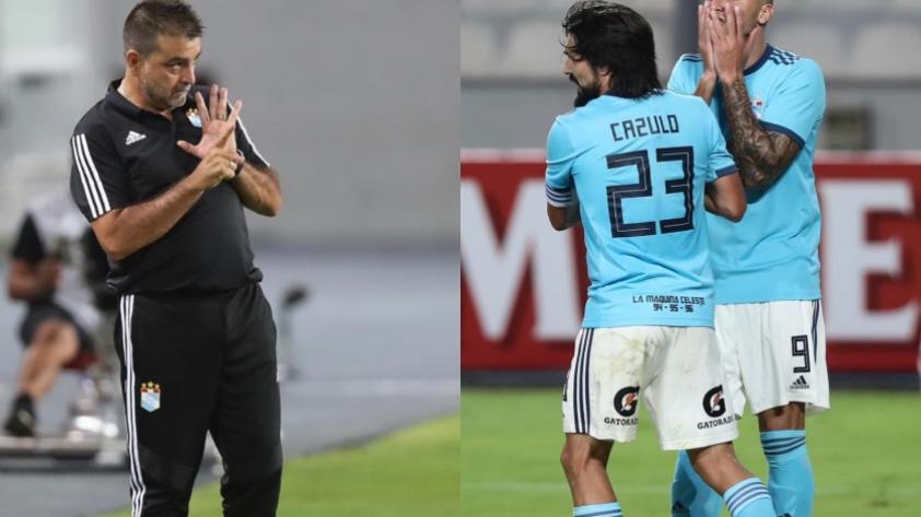 Sporting Cristal: ¿por qué Jorge Cazulo jugó de volante ofensivo? Esto dijo Claudio Vivas