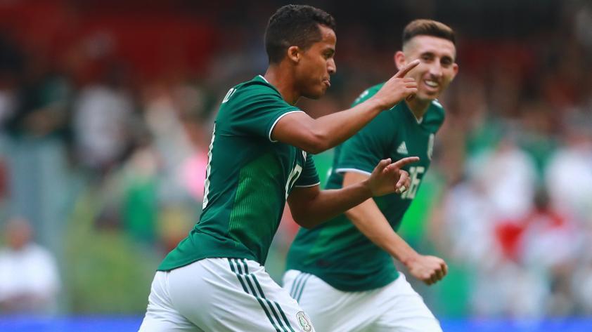 México venció 1-0 Escocia en su partido de despedida previo a Rusia 2018
