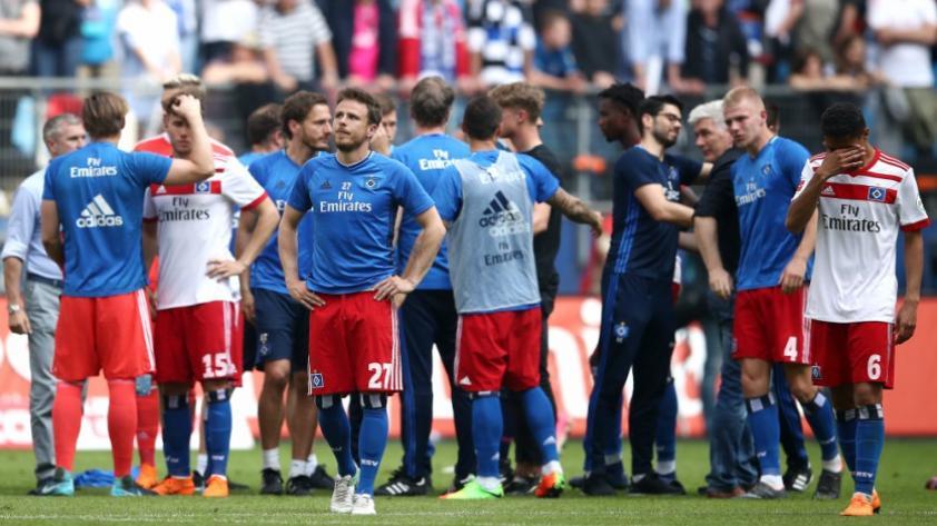 Hamburgo desciende por primera vez en la Bundesliga