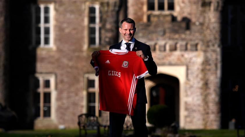 Ryan Giggs es el nuevo entrenador de la selección galesa