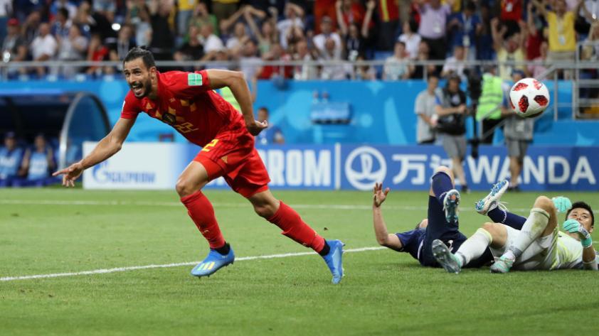 Bélgica derrotó 3-2 a Japón y pasa a cuartos de final de Rusia 2018