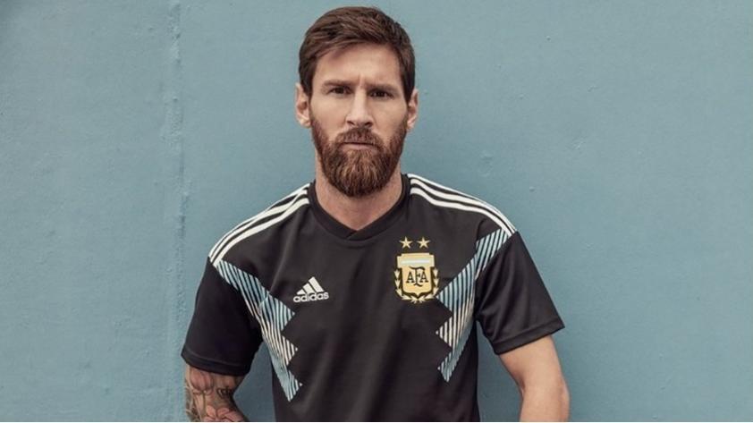 De lujo: la nueva camiseta alterna de Argentina para Rusia 2018
