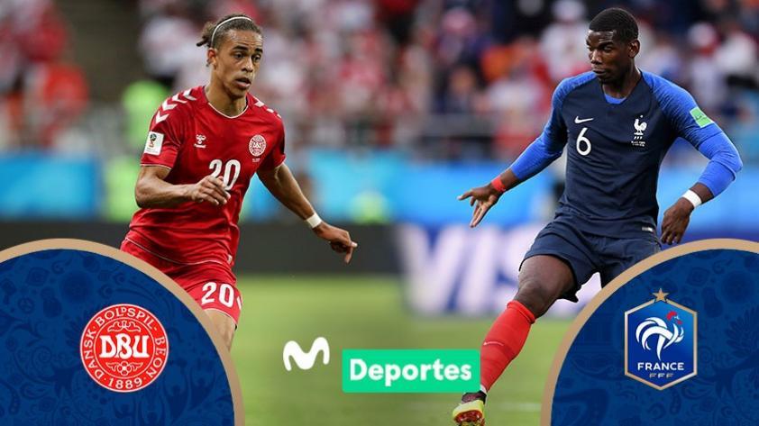 Francia vs. Dinamarca: chocan EN VIVO y EN DIRECTO  por la tercera fecha del grupo C de Rusia 2018