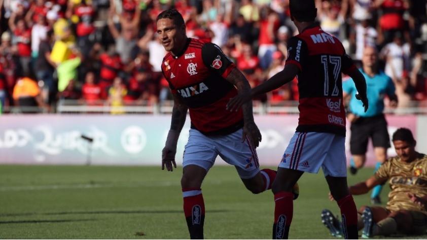 Paolo Guerrero y su mejor año en goles con Flamengo