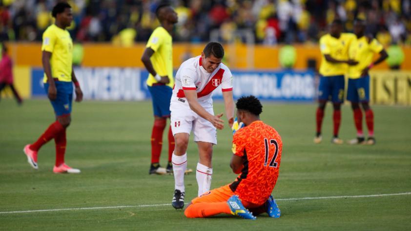 """Aldo Corzo: """"Ante Ecuador fue el partido más lindo de todos"""""""