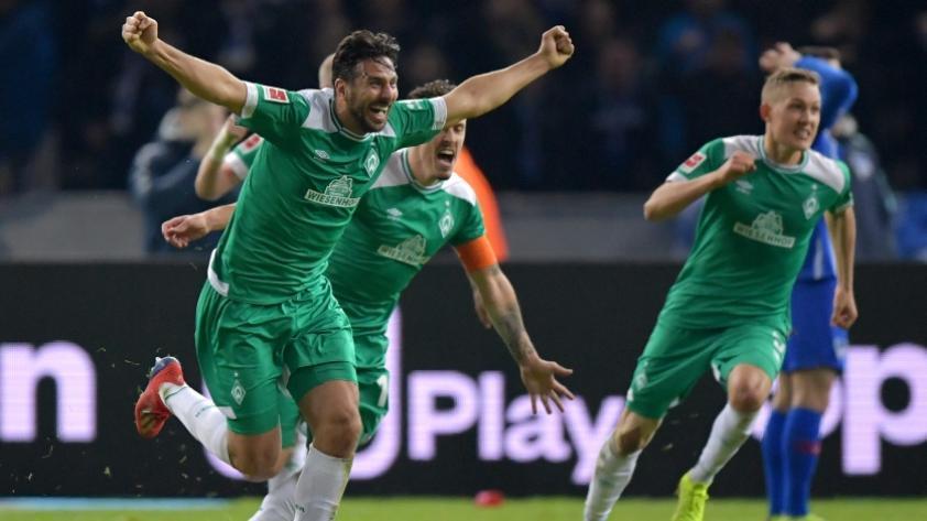 Claudio Pizarro: Werder Bremen destacó cuatro golazos del delantero en la Bundesliga (VIDEO)