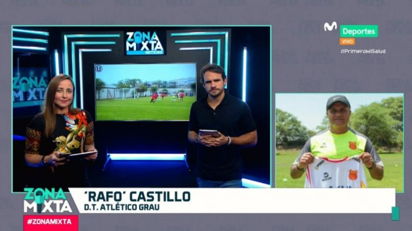 'Rafo' Castillo en Zona Mixta: