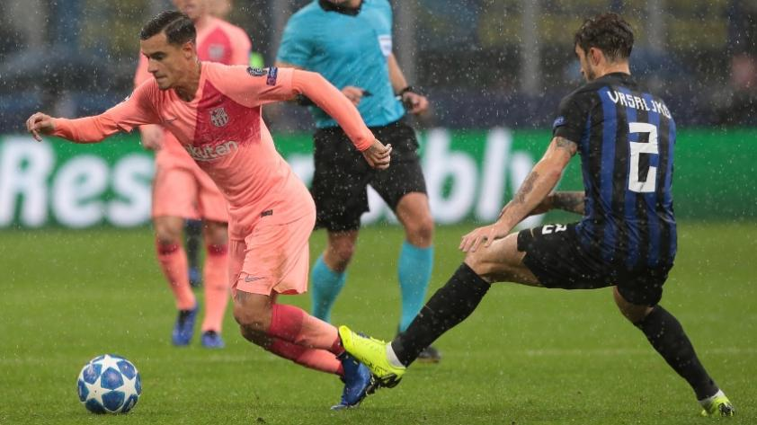 Barcelona e Inter de Milán se repartieron los puntos en su partido por la Champions League
