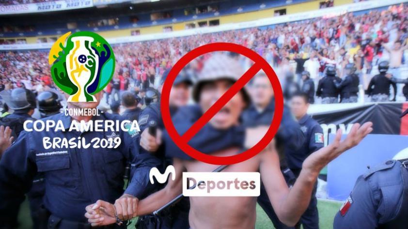 Cero tolerancia: Brasil negará el ingreso a hinchas con antecedentes violentos que quieran asistir a la Copa América 2019