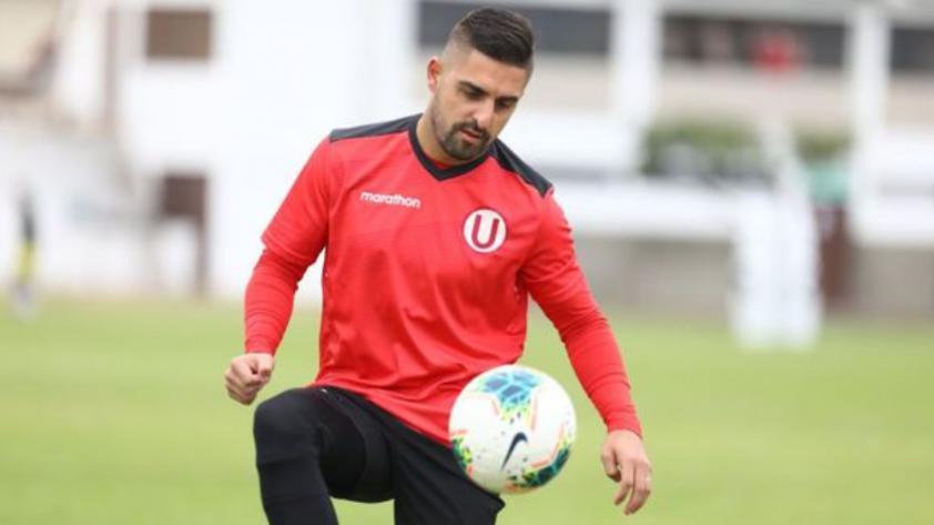 Luis Urruti sufrió una lesión en la rodilla y quedará fuera aproximadamente por tres semanas
