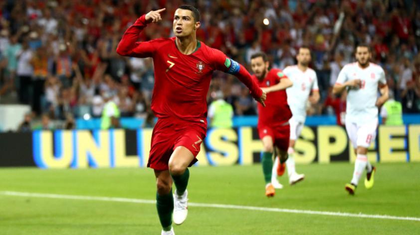 Portugal vs. España: Ronaldo anota el tercer gol de penal más rápido en los Mundiales
