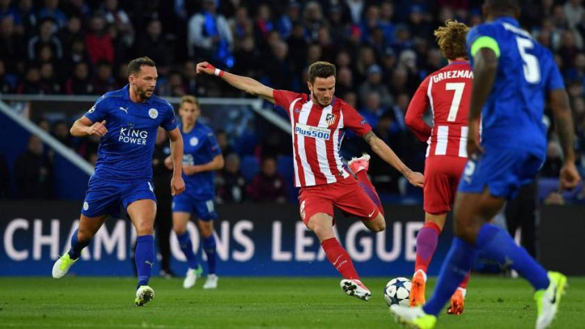 Atlético de Madrid avanza a semis y termina con el sueño del Leicester