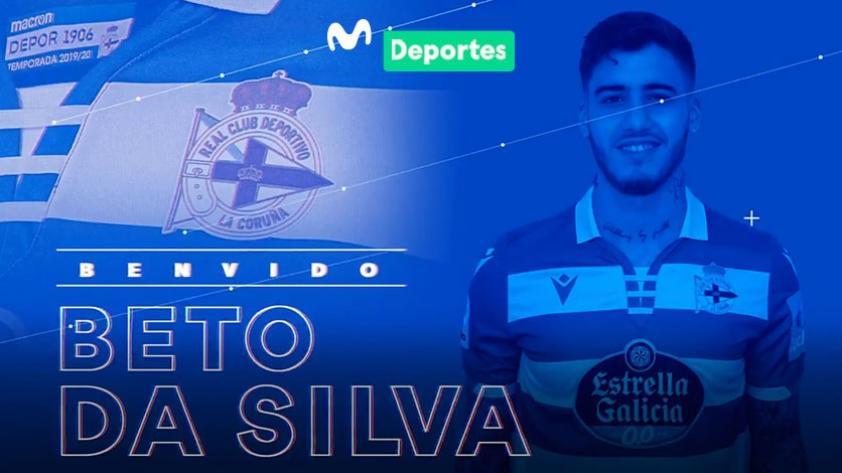 Nuevos horizontes: Beto Da Silva fue anunciado como nuevo fichaje del Deportivo La Coruña