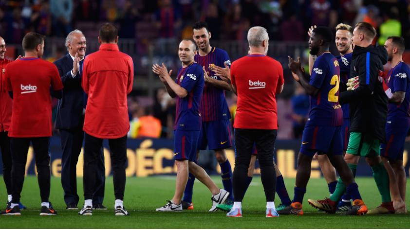 Andrés Iniesta no jugará en el fútbol chino