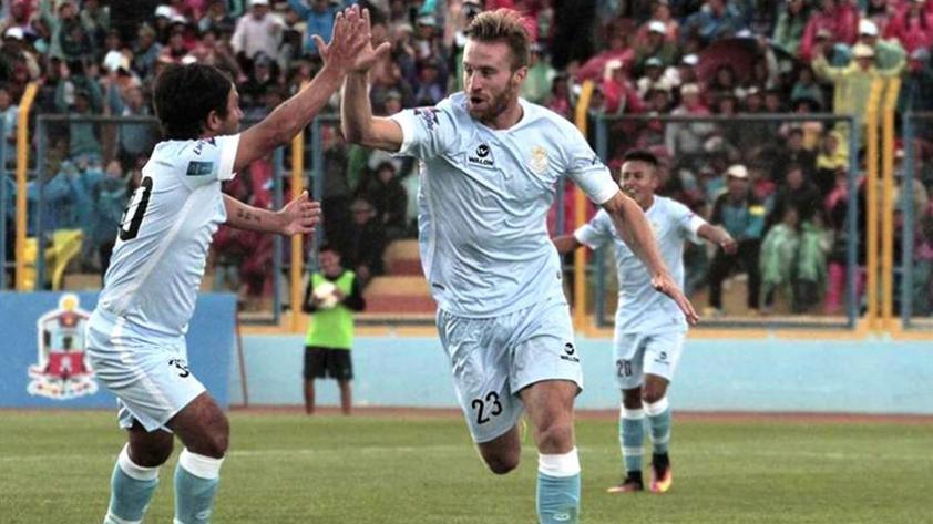 Real Garcilaso venció 2-1 a Unión Comercio y se mantiene en la cima
