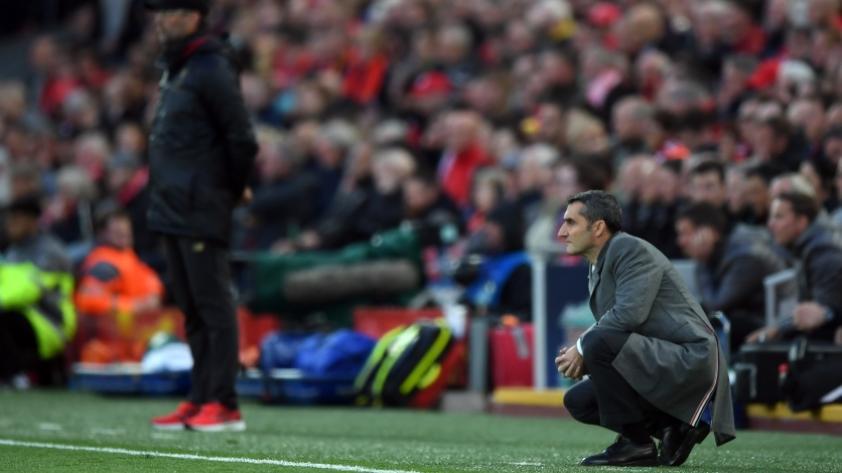 Ernesto Valverde, entrenador del FC Barcelona: