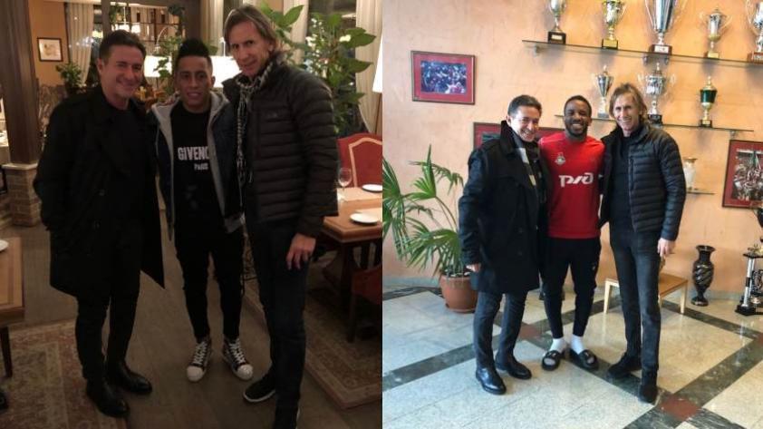 Selección Peruana: Gareca se reúne con Farfán y Cueva