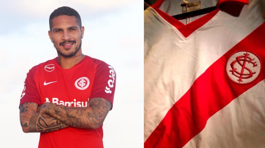 Paolo Guerrero: Internacional de Porto Alegre podría relanzar camiseta parecida a la de Perú
