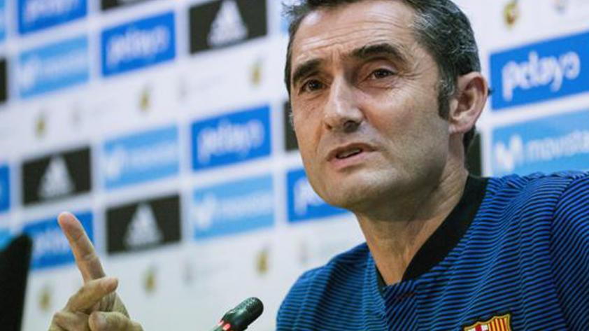 """Ernesto Valverde: """"Existe un marcador adverso, pero no hay nada imposible"""""""