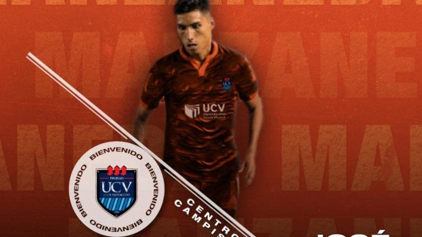 José Manzaneda fue oficializado como nuevo jugador de la UCV