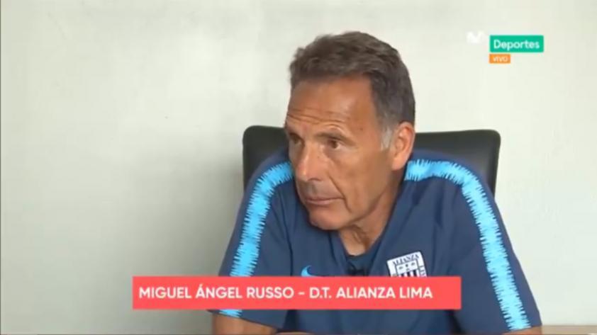 ¿Qué debe mejorar Alianza Lima previo al duelo con River Plate? Así respondió Miguel Ángel Russo en exclusiva para Movistar Deportes (VÍDEO)