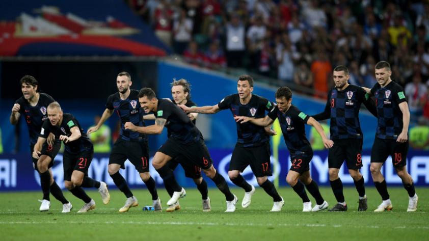 Croacia le ganó 4-3 a Rusia por penales y pasa a semifinales de Rusia 2018