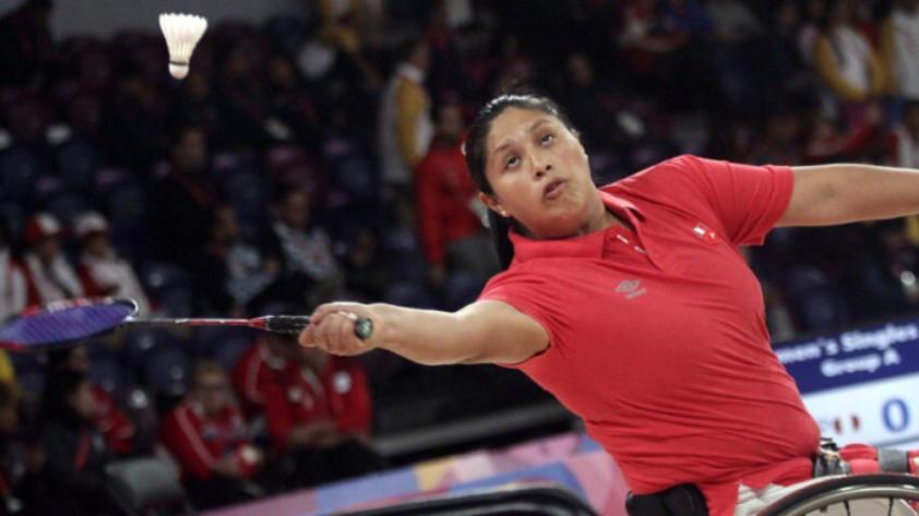 Lima 2019: Pilar Jáuregui ganó medalla de oro en para bádminton