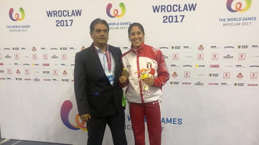 Alexandra Grande campeona de kumite en los World Games