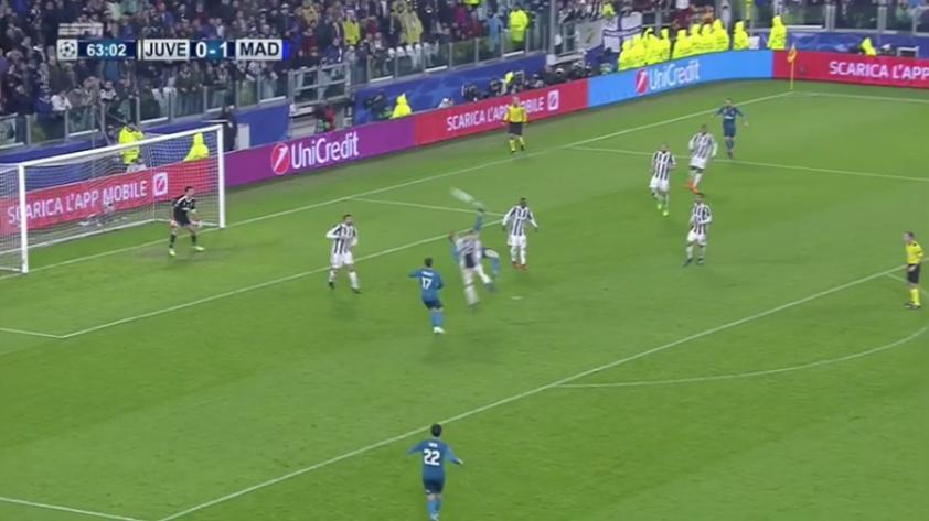 (VIDEO) ESPECTACULAR: el golazo de 'chalaca' de Cristiano Ronaldo ante la Juventus