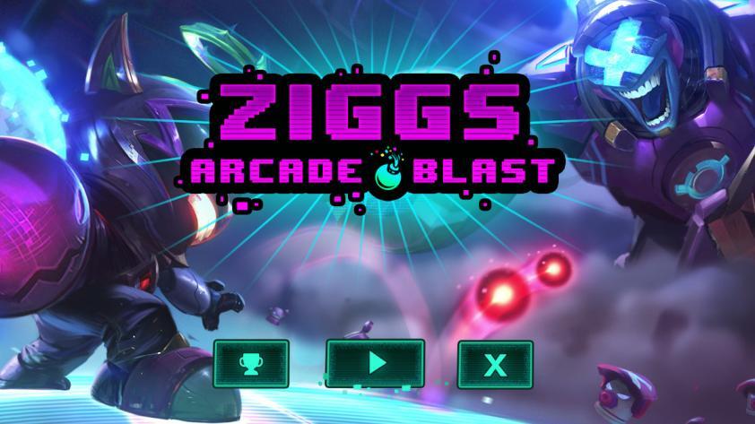 Ziggs Arcade Blast es el nuevo juego de Riot Games