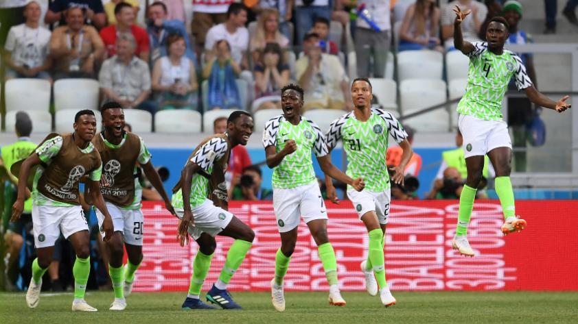 Nigeria derrotó 2-0 a Islandia por la segunda fecha del grupo D de Rusia 2018